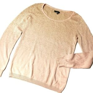 Jeans By Buffalo Sweater Peach Pink Gold